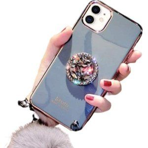 NIP iPhone 11 Pro Max Case/WristStrap/PomPom/Ring